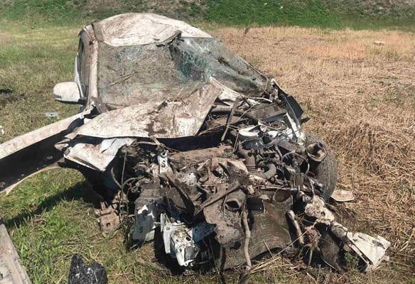 На Московском шоссе в Самаре автомобиль Mitsubishi вылетел в кювет | CityTraffic