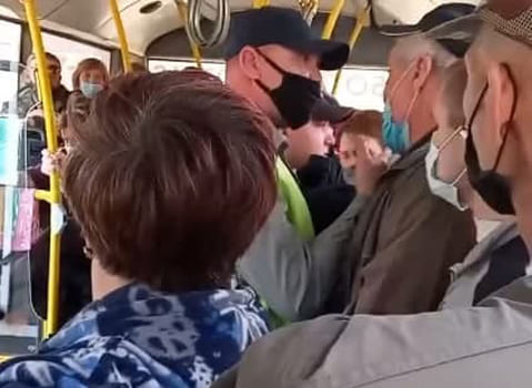 В Самаре задержаны пассажиры автобуса, устроившие потасовку с полицией и ДНД | CityTraffic