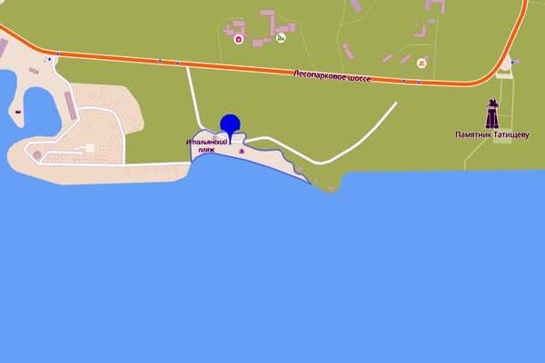 Итальянский пляж вТольятти благоустроят в2022 году