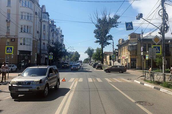 В Самаре внедорожник сбил мальчика на самокате | CityTraffic
