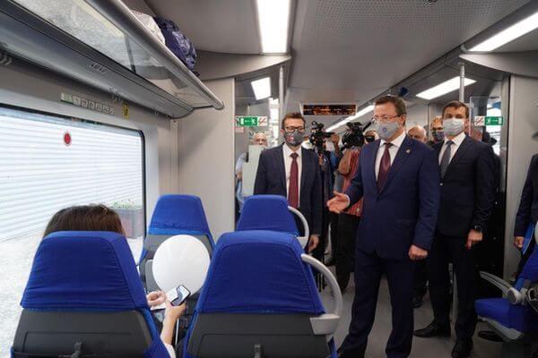 Между Самарой и Тольятти запустили скорый электропоезд «Ласточка»   CityTraffic