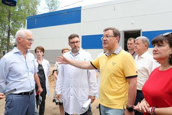 Новый COVID-госпиталь в Тольятти примет первых пациентов 1 августа | CityTraffic