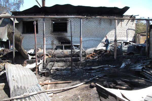 Пожар в Сызрани, унесший жизни двух женщин, мог начаться из-за проблем в проводке уличного фонаря | CityTraffic