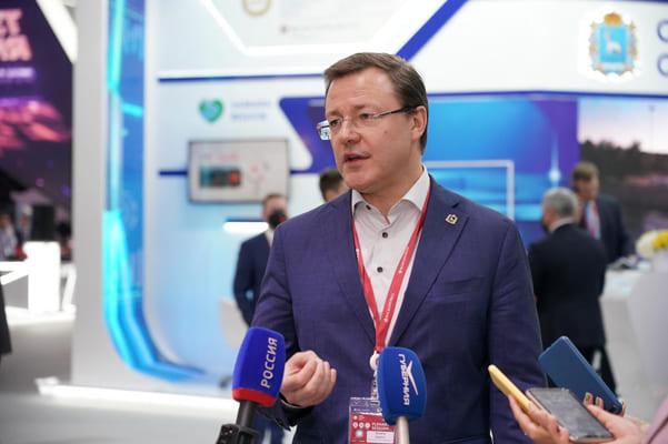 Соглашения, заключенные на ПМЭФ-2021, обеспечили Самарской области инвестиции на сумму 60 млрд рублей