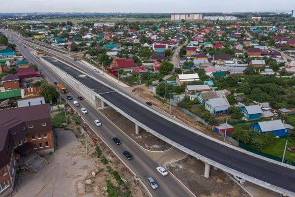 До конца июля 2021 года приступят к первому этапу надвижки пролетного строения Самарского моста | CityTraffic