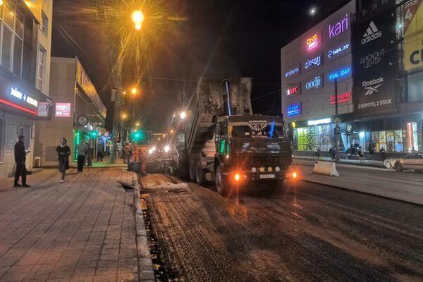 Работы по укладке асфальта на улице Аэродромной в Самаре выполнены наполовину   CityTraffic