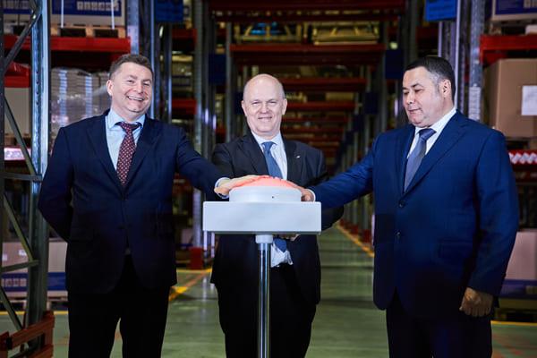 АВТОВАЗ открыл в Твери крупнейший региональный склад запчастей LADA | CityTraffic