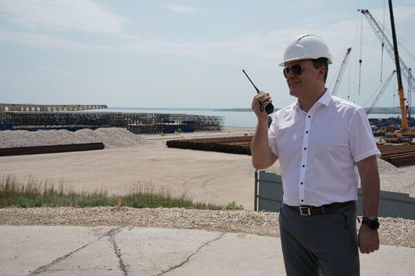 Строительство моста через Волгу в Самарской области идет ускоренными темпами | CityTraffic