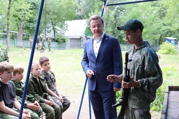 Губернатор Самарской области проверил, насколько комфортно отдыхать детям в оздоровительных лагерях   CityTraffic