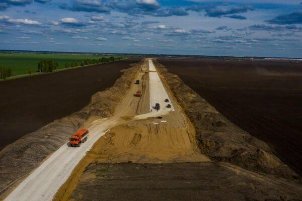 Под Тольятти начаты работы по строительству дороги с развязкой у Зеленовки и Васильевки   CityTraffic