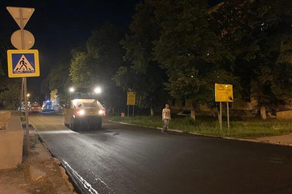 В Самаре устраняют ямы и колеи на проезде 9 Мая | CityTraffic