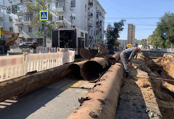 В Самаре за выходные заменят теплосети на четырех перекрестках | CityTraffic