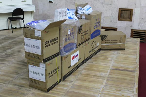 Медгородок Тольятти получил из Китая гуманитарную помощь для борьбы с COVID-19 | CityTraffic
