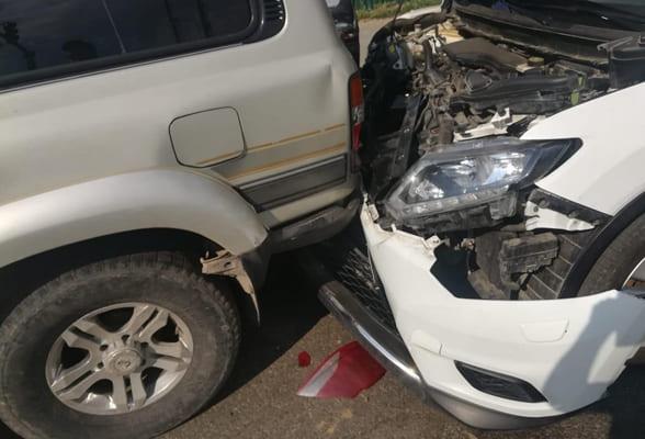 В Самаре пенсионер на Nissan врезался в три автомобиля | CityTraffic