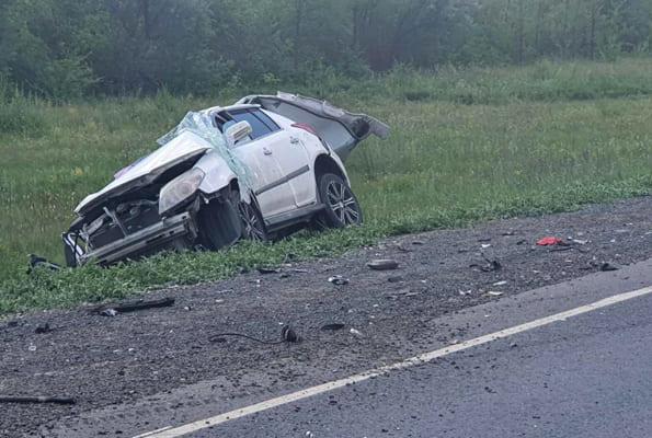 Один человек погиб врезультате столкновения легковушки игрузовика на трассе М‑5 вСамарской области