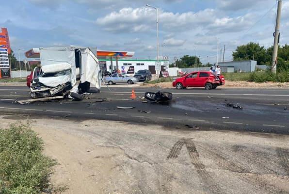 Массовое ДТП произошло на Ракитовском шоссе в Самаре, пострадали два человека | CityTraffic
