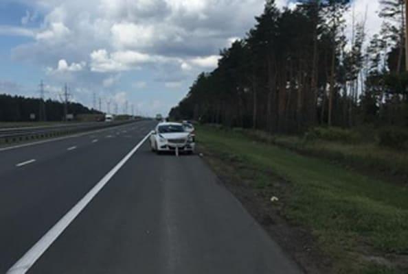 На трассе М-5 между Самарой и Тольятти перевернулся Nissan   CityTraffic