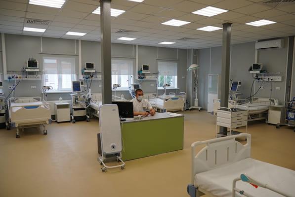 На территории больницы имени Середавина в Самаре открылся новый корпус ковид-госпиталя   CityTraffic