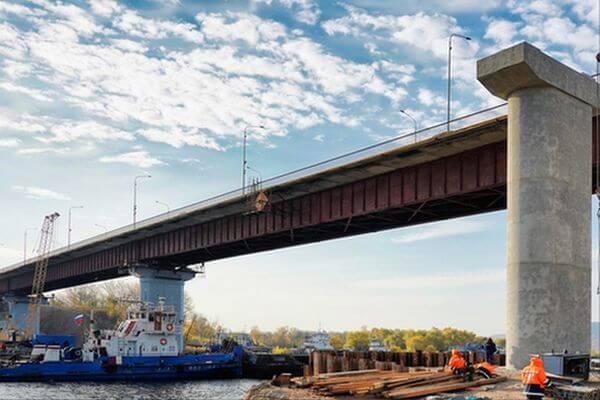 По мосту через реку Сок в Самарской области запустили рабочее движение по 4 полосам | CityTraffic