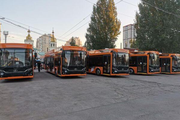 В контактной сети троллейбусов Самары обнаружили брак | CityTraffic