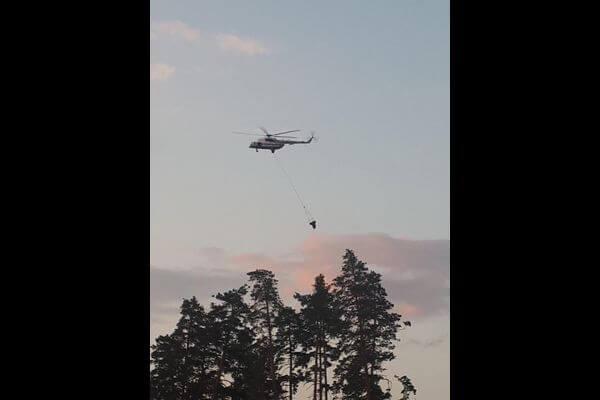 В Тольятти введен режим ЧС, тушение лесного пожара продолжается | CityTraffic