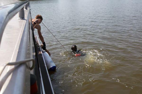 У острова Грязь на Волге утонул житель Самарской области | CityTraffic