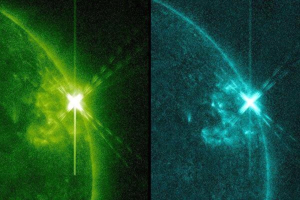 На Солнце произошла внезапная мощная вспышка класса Х