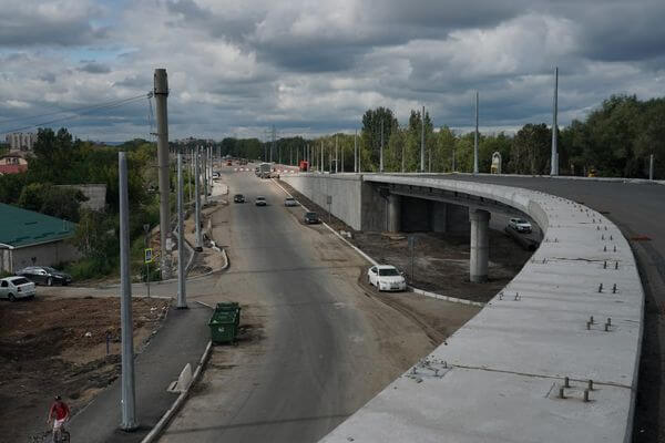Общая готовность второго этапа Самарского моста составляет 70% | CityTraffic