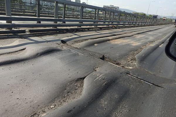 На развязке трассы М-5 в Тольятти переделывают деформационные швы | CityTraffic