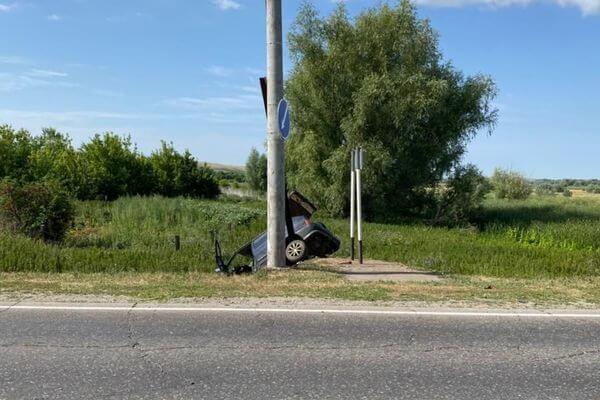 В Самарской области сломал позвоночник пассажир вылетевшего в кювет автомобиля   CityTraffic