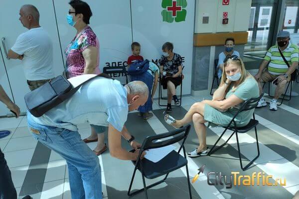 В Тольятти продолжается столпотворение у пунктов вакцинации от коронавируса | CityTraffic