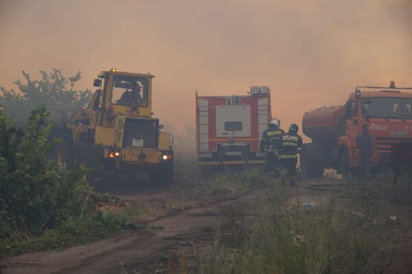 В Тольятти отменили режим ЧС, объявленный из-за масштабного лесного пожара | CityTraffic