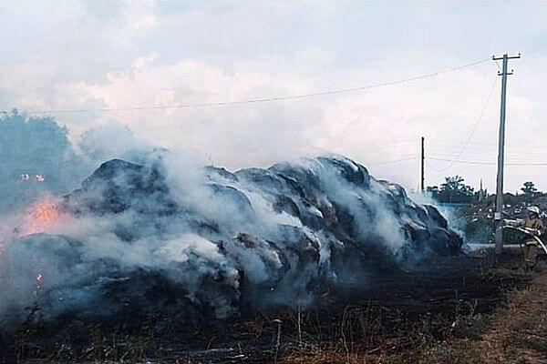 Пожар на ферме в Самарской области потушили ночью в субботу | CityTraffic