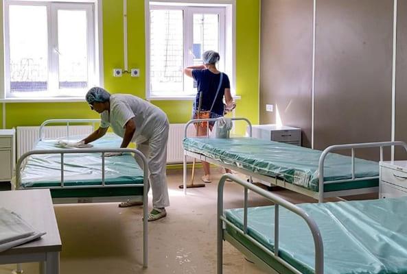 В течение 10 дней должна быть завершена подготовка к открытию модульного ковид-госпиталя в Тольятти | CityTraffic
