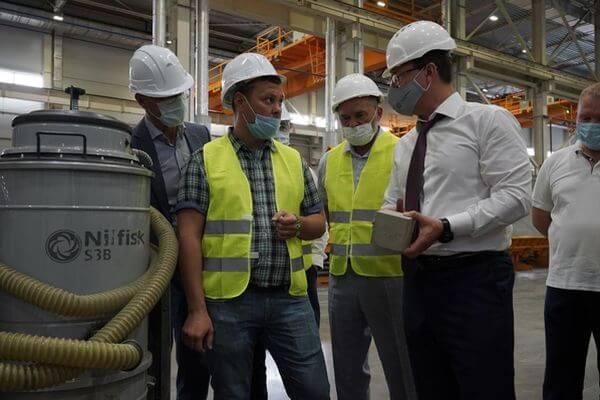 В Тольятти к сентябрю будет запущено экологически безопасное производство железобетонных изделий   CityTraffic