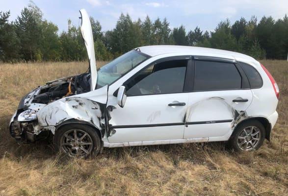В Самарской области в результате столкновения КАМАЗа и «Калины» пострадала 57-летняя женщина   CityTraffic
