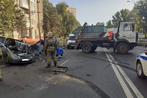 Водитель легковушки погиб в ДТП на улице Промышленности в Самаре | CityTraffic