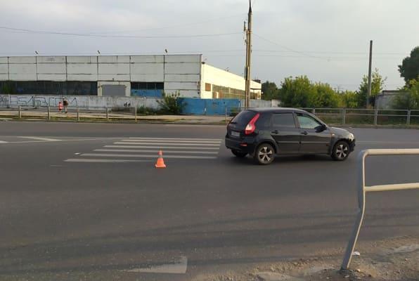В Самаре водитель «Калины» на пешеходном переходе сбил пенсионера | CityTraffic