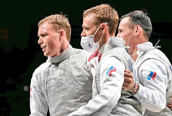Братья-рапиристы Бородачевы взяли серебро всоставе сборной на Олимпиаде