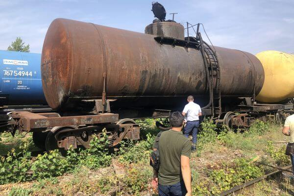 Силовики выясняют, что сливали Тольятти из жд вагонов за Борковкой | CityTraffic