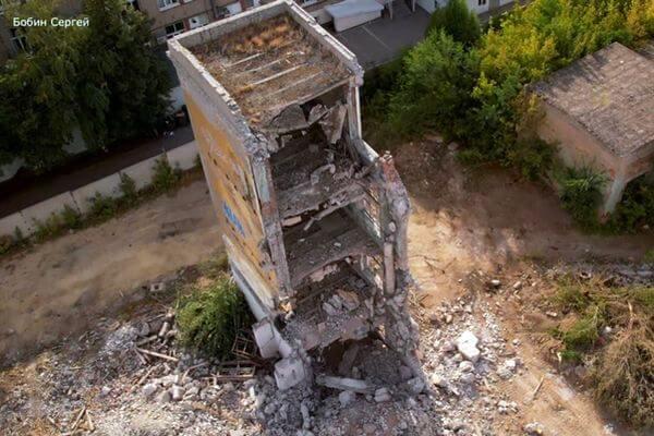 В Самаре снесли часовой корпус завода имени Масленникова | CityTraffic