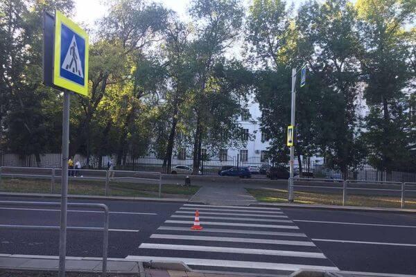 """В Самаре неисправная """"Ауди"""" сбила девушку на переходе   CityTraffic"""