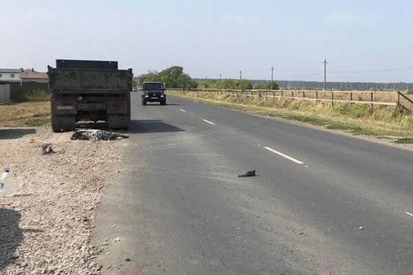 Под Тольятти КАМАЗ насмерть сбил пешехода   CityTraffic