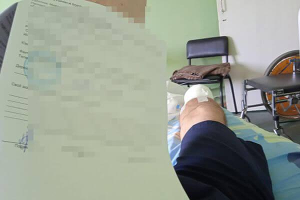 СК проверяет информацию ожителе Тольятти, которому на работе оторвало ногу
