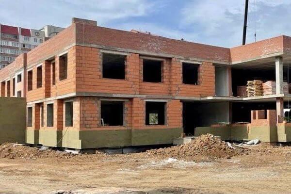 Строящийся детский сад вКировском районе Самары могут сдать кдекабрю 2021года