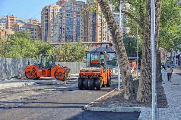 В Самаре заканчивается ремонт дороги у школы на Пятой просеке | CityTraffic