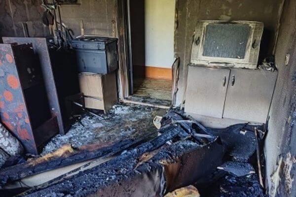 В Жигулевске на пожаре погиб мужчина   CityTraffic
