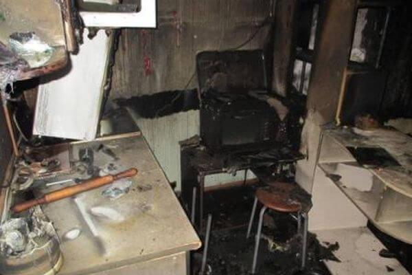 Житель Тольятти сжег квартиру бабушки своей жены из ревности   CityTraffic