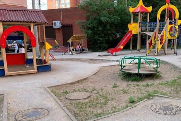 В Самаре перенесут детскую площадку с проспекта Карла Маркса в другое место | CityTraffic