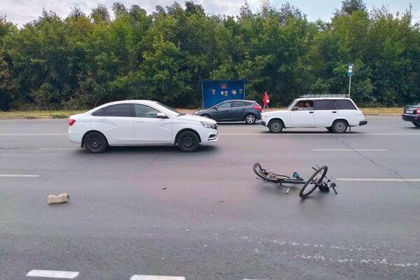 В Тольятти сбит пьяный велосипедист | CityTraffic